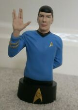 More details for new start trek spock bust issue 2 collectible statue hero collector eaglemoss