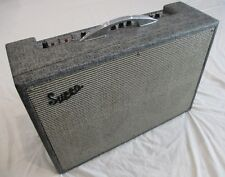 1966 Supro Vibra Verb Vintage Amp Amplifier w Pitch Shifting Vibrato