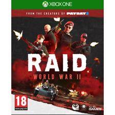 RAID World War II 2 Xbox One Xb1 UK Delivery