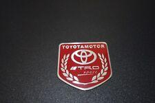 Toyota TRD Motor Sports Embossed Metal Badge Emblem Sticker Logo 86 Corolla Rav4