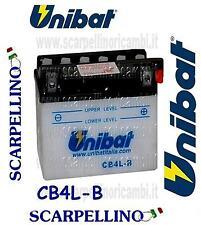 BATTERIA UNIBAT CB4L-B CON ACIDO PER PUCH COBRA GTL 50 cc -BATTERY- YB4L-B