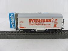 Märklin Basis 4415 Werbewagen  Overmann rot (Schaffner weiss) Sondermodell, neu