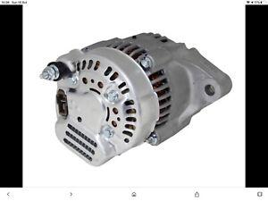 lightweight race 40amp compact alternator, universal 2 bolt fitment easy wiring