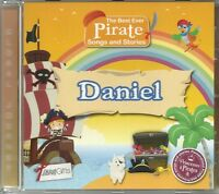 DANIEL THE BEST EVER PIRATE SONGS AND STORIES PERSONALISED CHILDREN'S CD