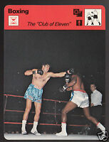 CLUB OF 11 Nino Benvenuti vs Luis Manuel Rodriguez Boxing 1979 SPORTSCASTER CARD