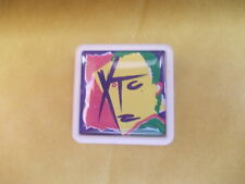 XTC DRUMS AND WIRES     ALBUM COVER    BADGE PIN