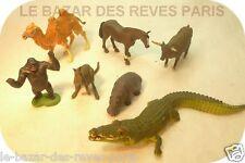 BRITAINS  animaux sauvages Lot de 7 pièces.