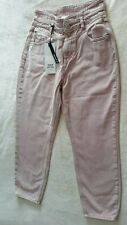 Ladies Pink Jeans Size 12s River Island