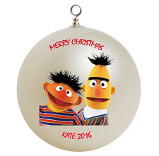 Personalized Sesame Street Bert and Ernie Ornament