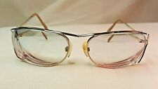 Vintage Prescription Eye Glasses Gold Glass 57 16 129