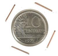 Brazil: 10 Centavos 1977 UNC
