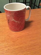 Villeroy & Boch Depuis 1748 Orange Vitro Porcelaine Mug Rare Hard To Find China