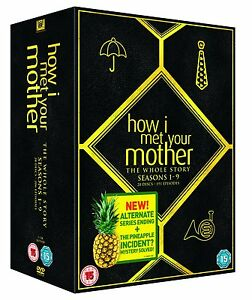HOW I MET YOUR MOTHER COMPLETE SERIES COLLECTION 1-9 DVD BOX SET 28 DISC NEW