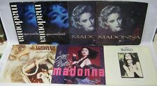 Lot of 7 45 Records Madonna With Picture Sleeve
