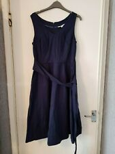 Navy Jade dress by boden size 10 R w0094