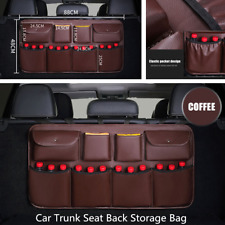 Large Capacity Car SUV Rear Seat Back Storage Bag Multi-Use Interior Accessories
