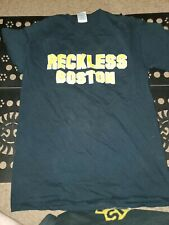 Reckless t shirt Band size small S Boston hardcore bruins fight  stop snitching