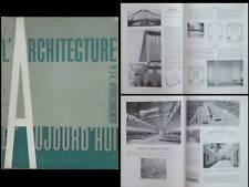 L'ARCHITECTURE D'AUJOURD'HUI n°3-4 1940 MAISON DU PEUPLE CLICHY, JEAN Prouvé