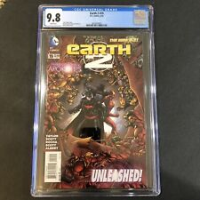 EARTH 2 #19 CGC 9.8 1ST APPEARANCE OF VAL-ZOD BLACK SUPERMAN OF EARTH 2