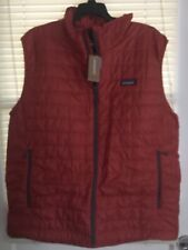 NWTs Patagonia Men's Nano Puff Insulated Vest. X-Large. New Adobe