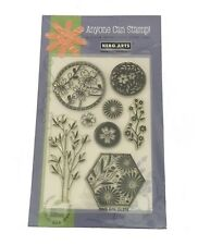 """4""""x6"""" Clear Stamp ASIAN FRAMES Bamboo Flowers (Yellowing)"""