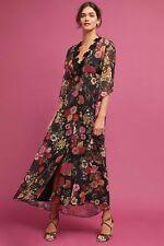 Anthropologie Farm Rio Laina Maxi Dress  new  S small ~ slip dress missing