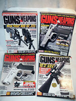 LOT of 11 GUNS & WEAPONS FOR LAW ENFORCEMENT MAGAZINES - 1996,1997,1998,1999