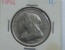 Queen Victoria 1896 Shilling Finest Quality&Condition: The Perfect Gift Idea!