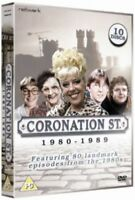 CORONATION STREET 1980 to 1989 series 10 disc box set. New sealed DVD.