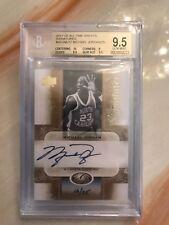 2011 Upper Deck All-Time Greats Signatures Michael Jordan Auto / BGS 9.5
