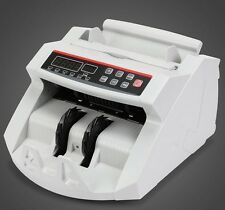 NEW BILL MONEY CASH COUNTER BANK MACHINE COUNT CURRENCY UV COUNTERFEIT DETECTOR