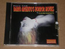 CLAUDIO SIMONETTI - MUSIC FROM DARIO ARGENTO'S HORROR MOVIES - CD COME NUOVO