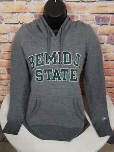Bemidji State Beavers NCAA Football Hooded Hoodie Sweatshirt Womens XS Champion