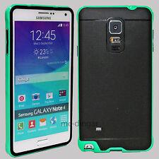 Ultra-Thin Soft Rubber Matte Bumper Case Cover For Samsung Galaxy Note 4 5 S8 +