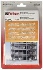 Preiser 80990 Pedestrians Assorted Unpainted Figures 1/200 Model Figure
