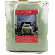 Opalhouse Cotton Gauze Comforter And Tassel Sham Set Green Twin/XL Twin