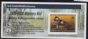 US SCOTT #RW69a MNH VF Self Adhesive Duck Stamp CV $30.00