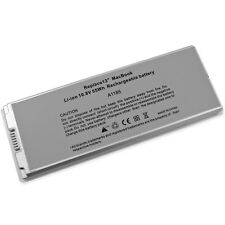 """New Battery For Apple Macbook 13"""" A1185 A1181 MA561J/A MA561FE/A MA566 White"""