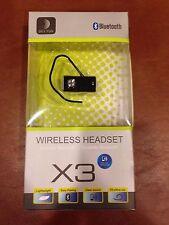 Delton X3 Black Ear-Hook Headsets