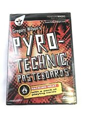 Gregory Wilson's Pyrotechnic Pasteboards DVD MAGIC TRICK (Penquin Magic, 2005)