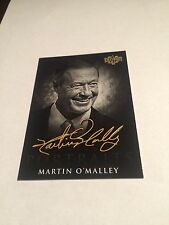 2016 Decision Political Cards B&W PORTRAIT CP14 MARTIN O'MALLEY