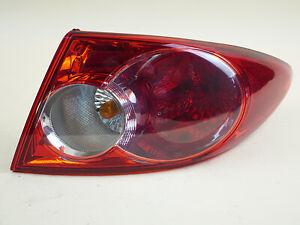 Koolzap For 06-08 Mazda 6 Chrome Bezel Taillight Taillamp Light Lamp Right Passenger Side RH