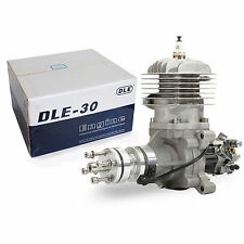 GENUINE DLE DLE30 Petrol Gas Engine for RC Airplane Plane w/ CDI & Muffler in UK