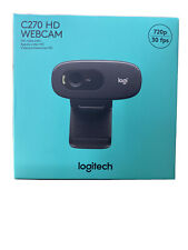 Logitech HD Webcam C270 Widescreen Video Calling and Recording-USA FREE SHIPPING