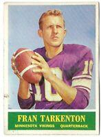 1964 Philadelphia NFL Football Card #109, FRAN TARKENTON, Minnesota Vikings