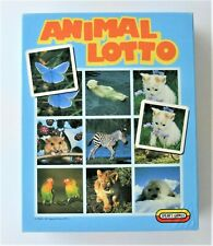 Spears Games Animal Lotto 1989 2-6 Players Age 4-7 Years Complete