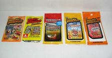 TOPPS WACKY PACKAGES TRADING CARDS LOT OF (5) PACKS SEALED RANDOM