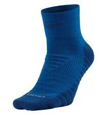 NIKE DRY PERFORMANCE CUSHIONED GOLF QUARTER SOCKS BLUE SG0775-465 UK2-5-8-11-14