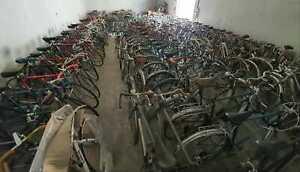 Lot de vélos de route vélo de ville course vtt randonneur vintage d'occasions