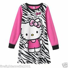 db7dbdd56 Sanrio Girls' Long Sleeve Sleeve Nightgown Sleepwear (Sizes 4 & Up ...
